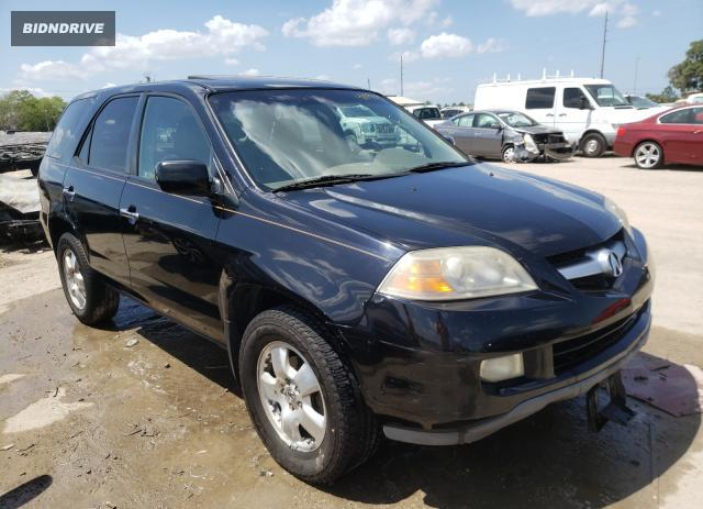 Lot #1697135411 2005 ACURA MDX salvage car
