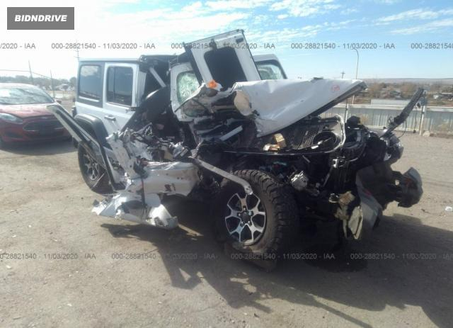 Lot #1699670201 2018 JEEP WRANGLER UNLIMITED RUBICON salvage car