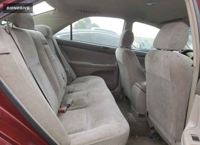 Lot #1702977207 2002 TOYOTA CAMRY LE salvage car
