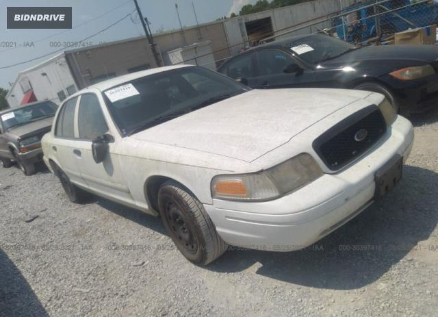 Lot #1706991327 2004 FORD CROWN VICTORIA BASE salvage car