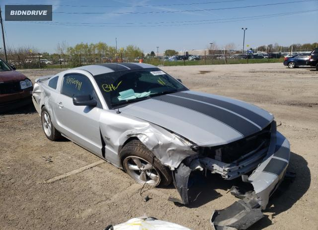 Lot #1708476304 2007 FORD MUSTANG GT salvage car