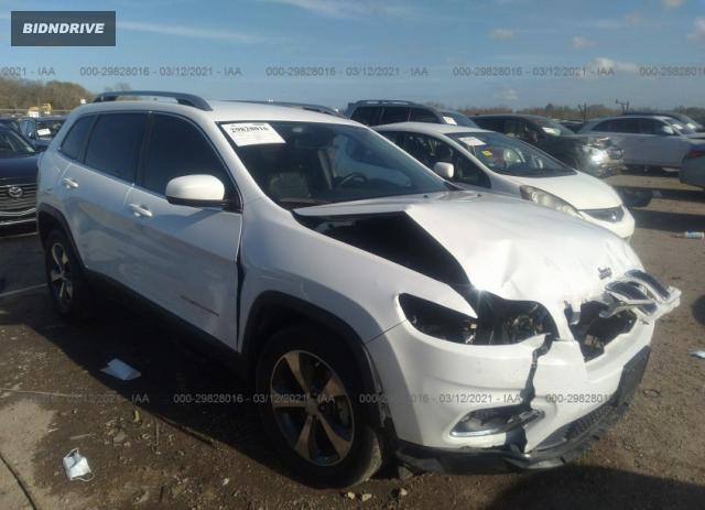 Lot #1709876197 2019 JEEP CHEROKEE LIMITED salvage car