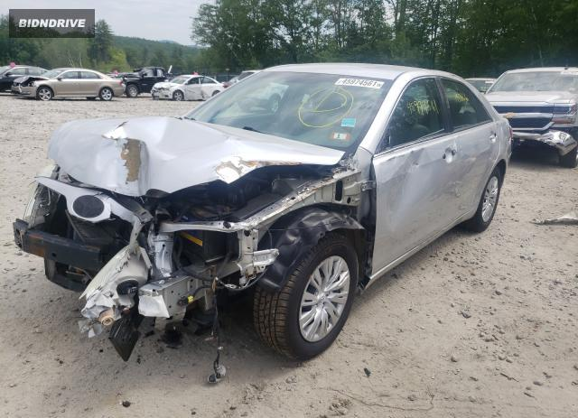 Lot #1711970437 2010 TOYOTA CAMRY BASE salvage car