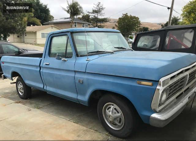 Lot #1712278677 1973 FORD PICKUP salvage car