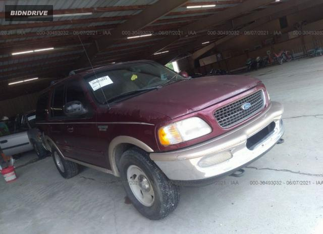 Lot #1716129101 1997 FORD EXPEDITION XLT/EDDIE BAUER salvage car