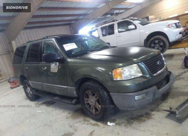 Lot #1716130361 2003 FORD EXPEDITION SPECIAL SERVICE salvage car