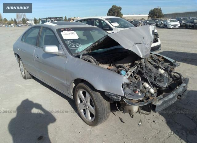 Lot #1716146267 2002 ACURA TL TYPE S W/NAVIGATION salvage car