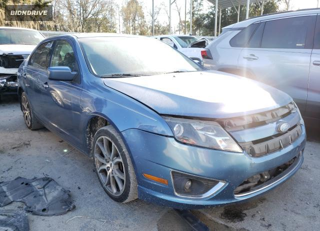Lot #1718527477 2010 FORD FUSION SE salvage car