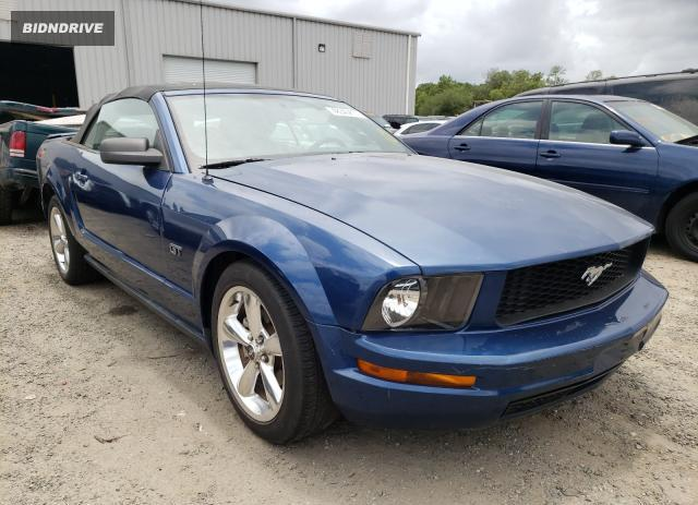 Lot #1720717504 2007 FORD MUSTANG salvage car