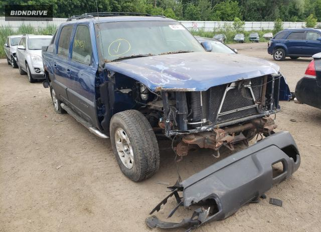 Lot #1722283247 2003 CHEVROLET AVALANCHE salvage car