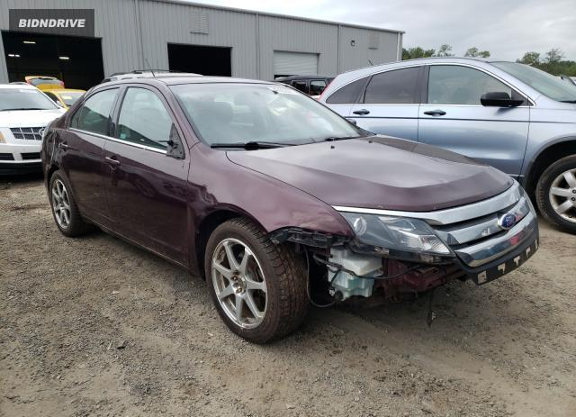 Lot #1722283444 2011 FORD FUSION SEL salvage car