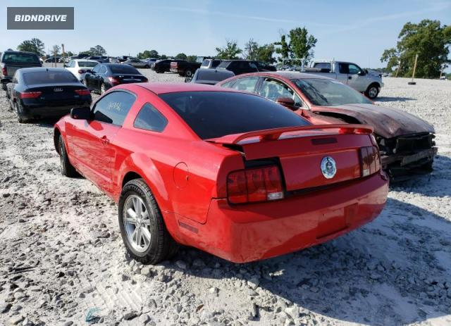 Lot #1722773527 2006 FORD MUSTANG salvage car
