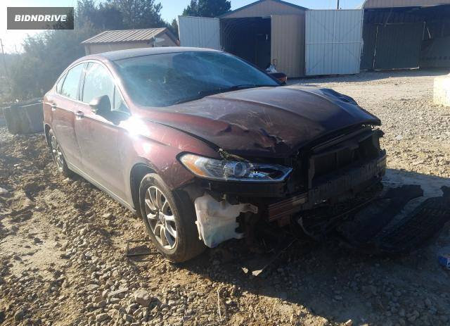 Lot #1724253734 2015 FORD FUSION S salvage car