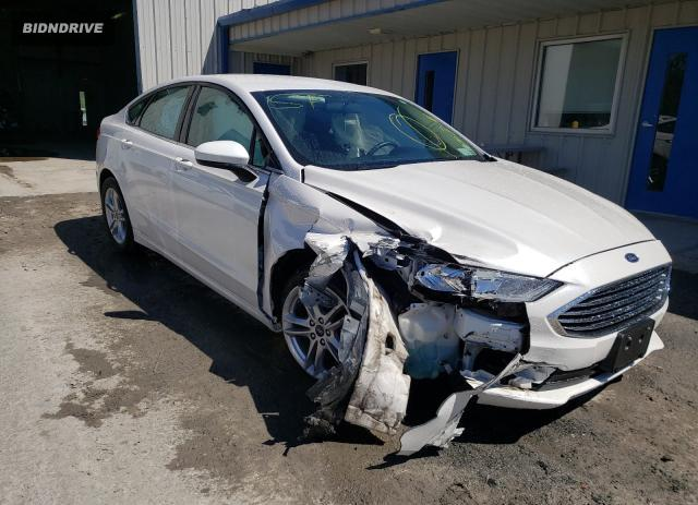 Lot #1724268857 2018 FORD FUSION SE salvage car