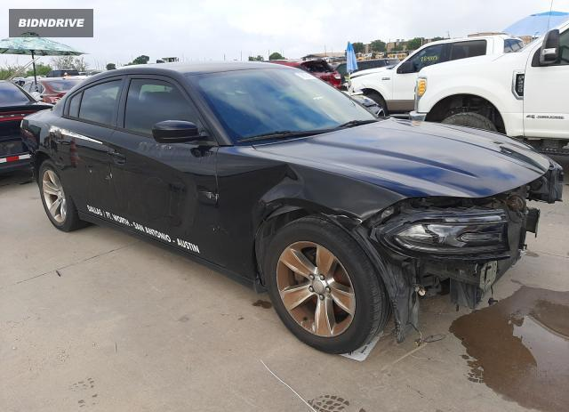 Lot #1726244327 2016 DODGE CHARGER SX salvage car