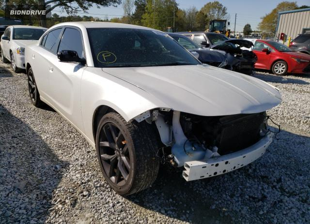 Lot #1726652427 2015 DODGE CHARGER SX salvage car