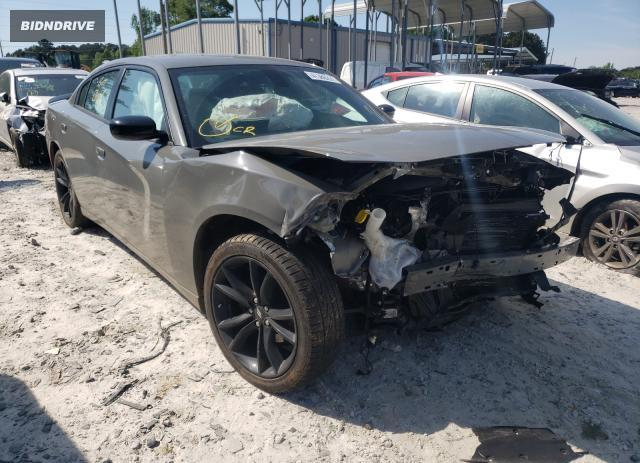 Lot #1726652467 2018 DODGE CHARGER SX salvage car