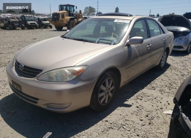 Lot #1726767784 2002 TOYOTA CAMRY LE salvage car
