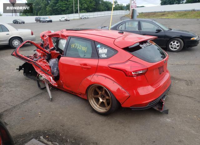 Lot #1729268341 2015 FORD FOCUS ST salvage car
