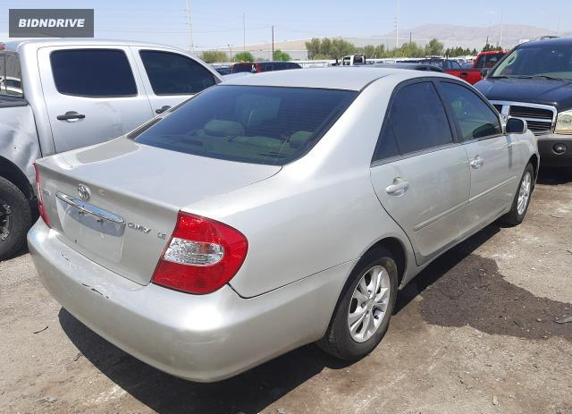 Lot #1729896584 2003 TOYOTA CAMRY LE salvage car