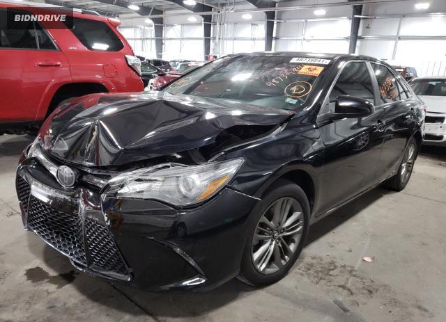 Lot #1729906247 2017 TOYOTA CAMRY LE salvage car