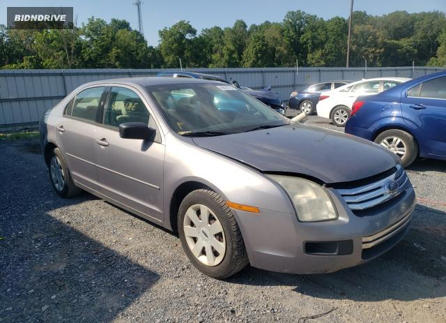 Lot #1729916304 2007 FORD FUSION S salvage car