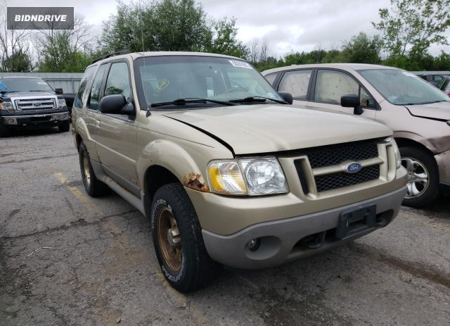 Lot #1729936631 2002 FORD EXPLORER S salvage car