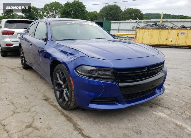 Lot #1730249364 2019 DODGE CHARGER SX salvage car