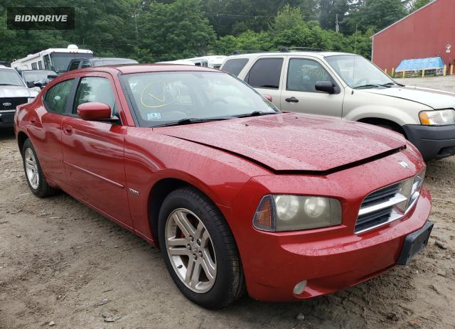 Lot #1730811617 2006 DODGE CHARGER R/ salvage car