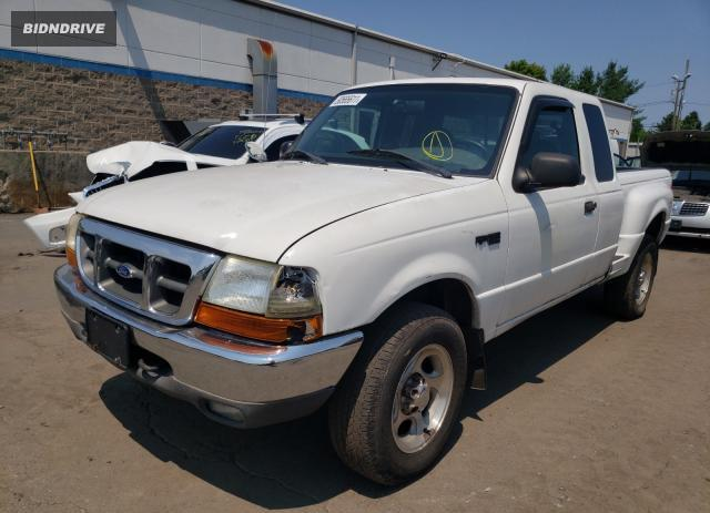 Lot #1731280411 2000 FORD RANGER SUP salvage car