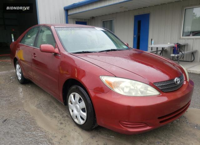 Lot #1731305367 2003 TOYOTA CAMRY LE salvage car