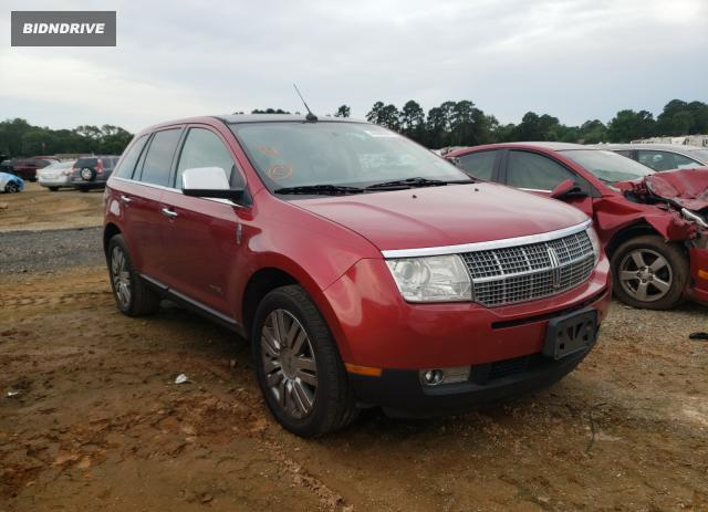 Lot #1731402534 2009 LINCOLN MKX salvage car