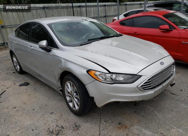 Lot #1731993334 2017 FORD FUSION SE salvage car