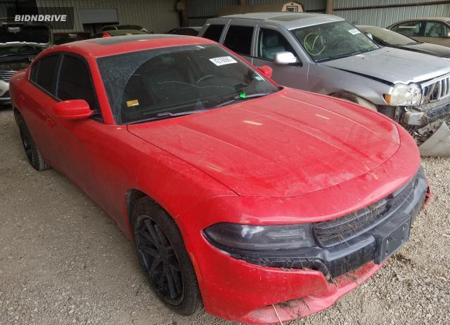 Lot #1733030521 2015 DODGE CHARGER SX salvage car