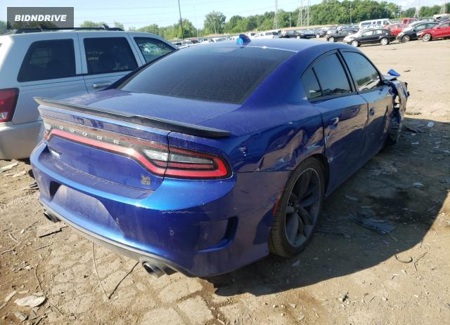 Lot #1733060947 2019 DODGE CHARGER SC salvage car