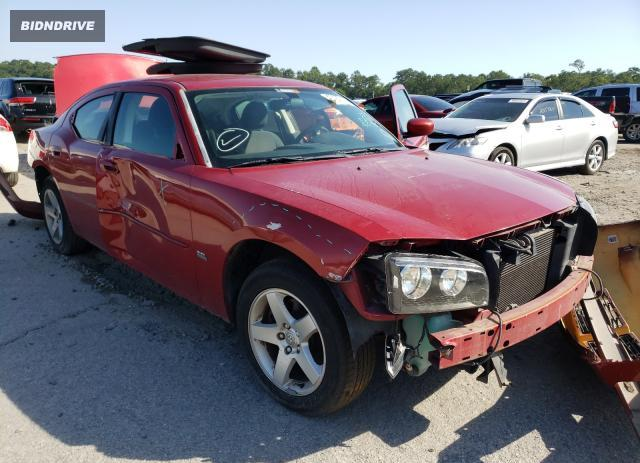Lot #1733075571 2010 DODGE CHARGER SX salvage car