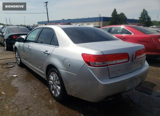 Lot #1733656907 2012 LINCOLN MKZ salvage car