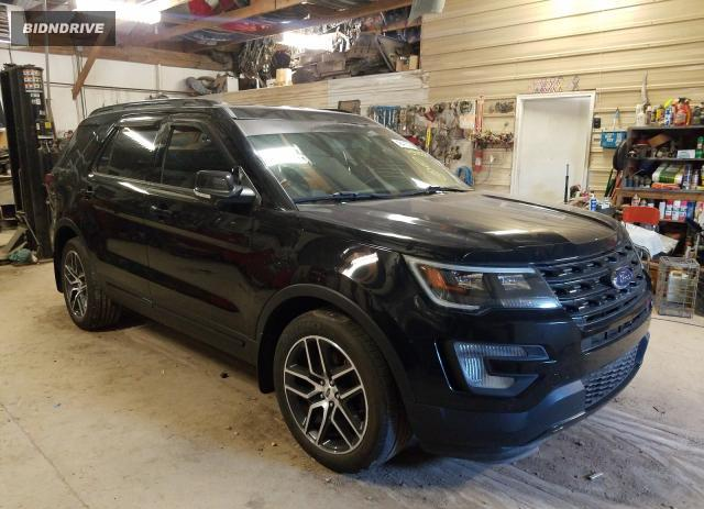 Lot #1733676991 2016 FORD EXPLORER S salvage car