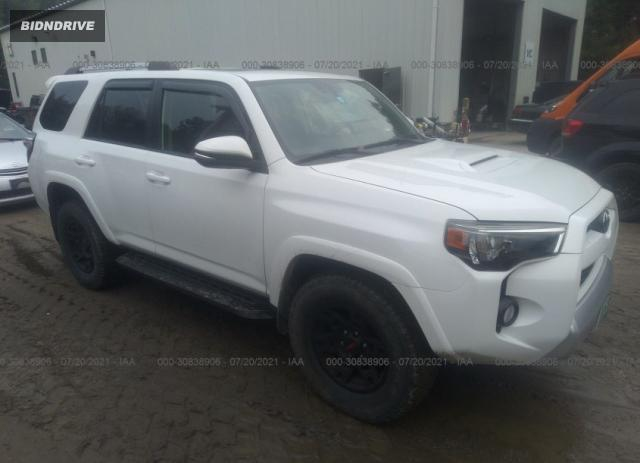 Lot #1738808657 2016 TOYOTA 4RUNNER LIMITED/TRAIL/SR5 salvage car