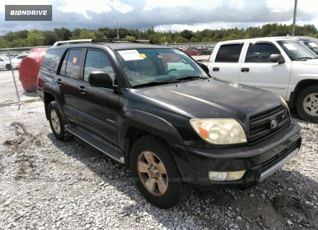 Lot #1738812524 2003 TOYOTA 4RUNNER LIMITED salvage car