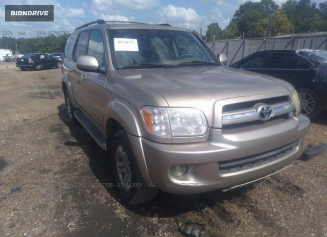 Lot #1738812754 2005 TOYOTA SEQUOIA LIMITED salvage car
