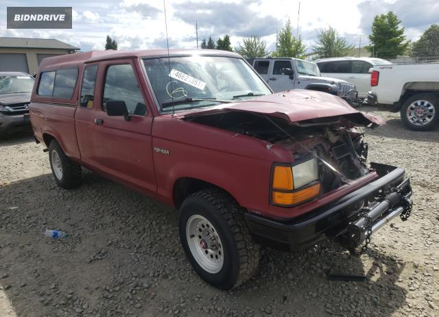 Lot #1749227607 1990 FORD RANGER SUP salvage car
