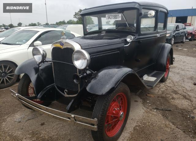 Lot #1756673601 1931 FORD MODEL A salvage car