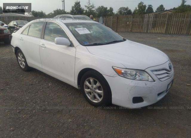 Lot #1761472554 2011 TOYOTA CAMRY LE salvage car