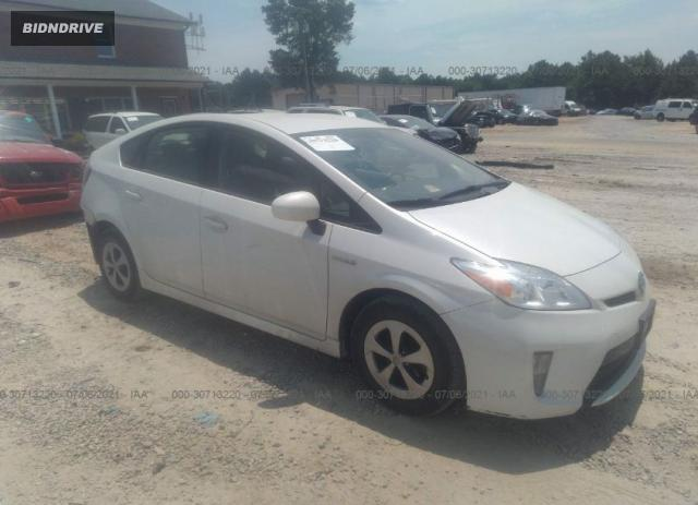 Lot #1761472901 2014 TOYOTA PRIUS FOUR/FIVE/THREE/ONE/TWO salvage car