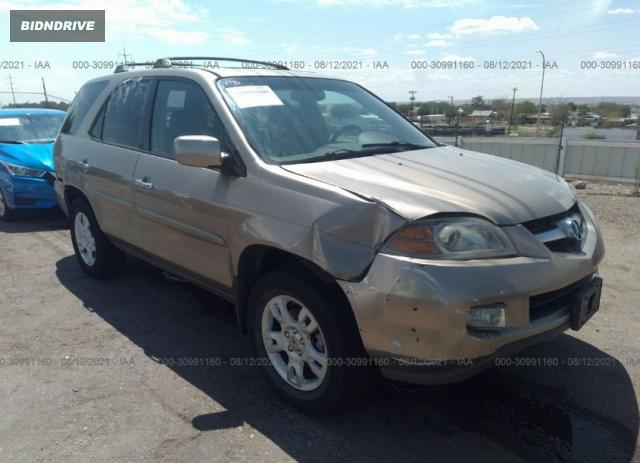 Lot #1761473171 2005 ACURA MDX TOURING salvage car