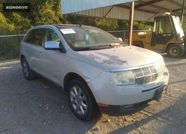 Lot #1761931807 2007 LINCOLN MKX salvage car