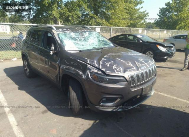 Lot #1762827914 2020 JEEP CHEROKEE LIMITED salvage car