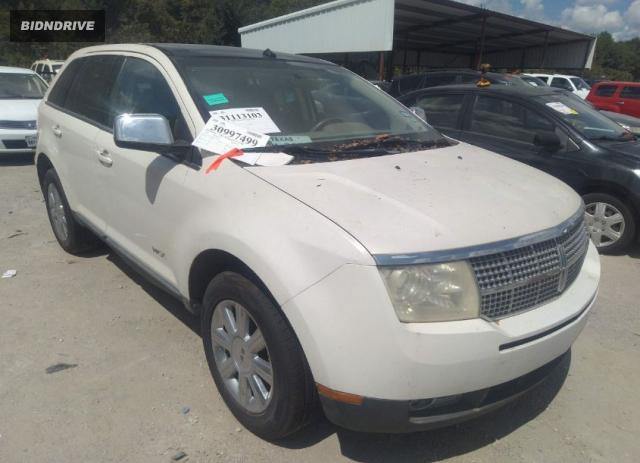 Lot #1762828771 2007 LINCOLN MKX salvage car