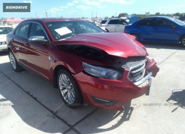 Lot #1762829217 2013 FORD TAURUS LIMITED salvage car